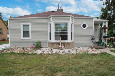 Jefferson Single Family Home Active Contingent With Offer: 414 E Dodge St