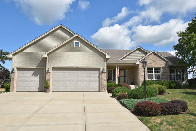 Mukwonago Single Family Home Active Contingent With Offer: 520 Brockway Dr