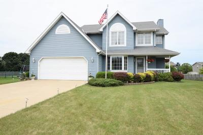 Racine Single Family Home For Sale: 1818 Shore Dr