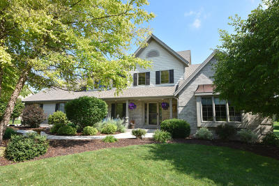 Washington County Single Family Home Active Contingent With Offer: N99w14660 Twin Meadows Dr