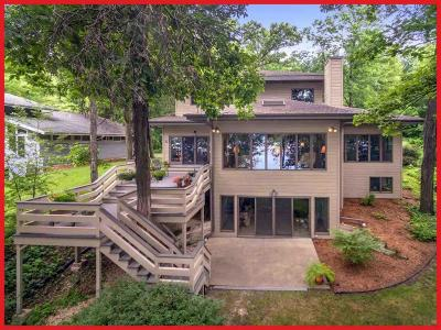Lake Mills Single Family Home Active Contingent With Offer: N6578 Shorewood Hills Rd