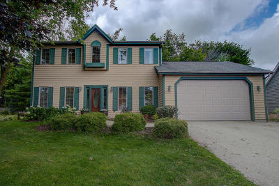 Saukville Single Family Home Active Contingent With Offer: 775 N Dries St
