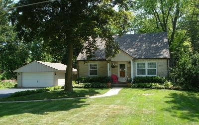 Mequon Single Family Home Active Contingent With Offer: 11452 N Buntrock Ave