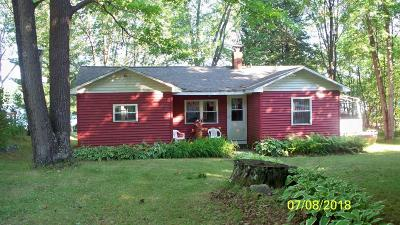 Single Family Home Active Contingent With Offer: 10666 W Rost Lake Rd