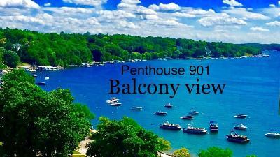 Lake Geneva Condo/Townhouse For Sale: 101 Broad St #901