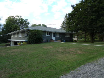Campbellsport Single Family Home For Sale: 705 N Youth Camp Rd