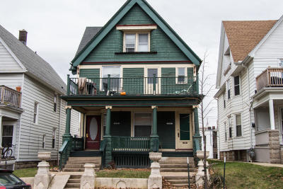Milwaukee WI Two Family Home For Sale: $274,900