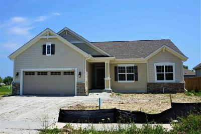 Racine Single Family Home Active Contingent With Offer: 4627 Sina Ln #Lt48