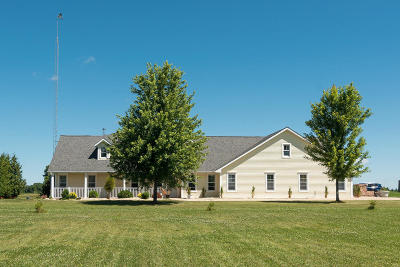 Watertown Single Family Home For Sale: W9160 State Road 19