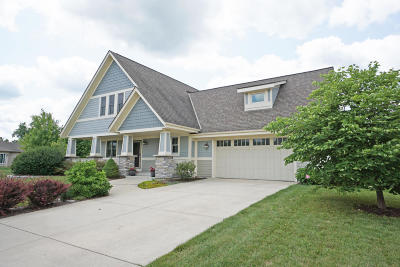 Waukesha Single Family Home Active Contingent With Offer: 4131 Oakmont Trl