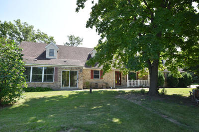 Menomonee Falls Single Family Home Active Contingent With Offer: W156n5413 Pilgrim Rd
