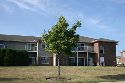 Pleasant Prairie Condo/Townhouse Active Contingent With Offer: 6738 102nd St #C