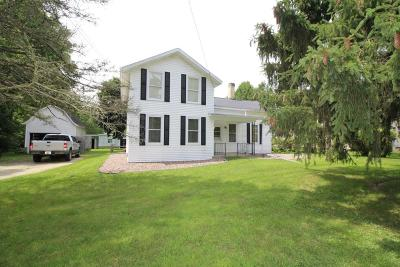 Lake Mills Single Family Home Active Contingent With Offer: N6981 County Road Q
