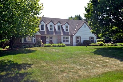 Delafield Single Family Home Active Contingent With Offer: 1086 Willow Dr