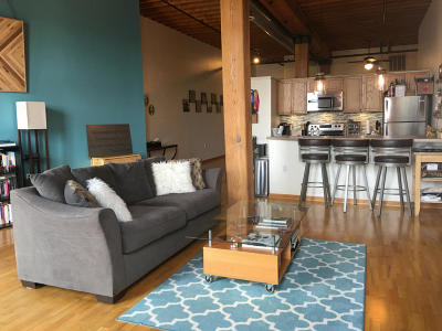 Milwaukee County Condo/Townhouse Active Contingent With Offer: 141 N Water St #32
