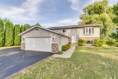 Pleasant Prairie WI Single Family Home Active Contingent With Offer: $274,900