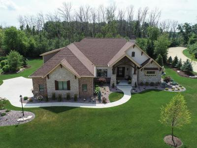 Pleasant Prairie WI Single Family Home Active Contingent With Offer: $899,900