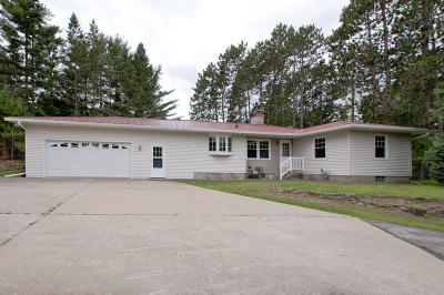 Marinette Single Family Home For Sale: N5465 Hwy 180