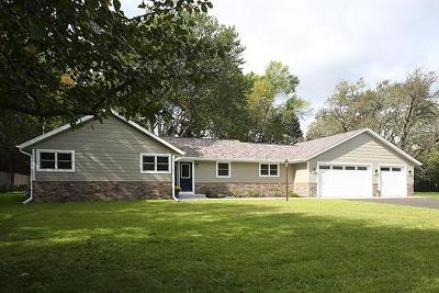 Milwaukee County Single Family Home For Sale: 7865 N Lake Dr