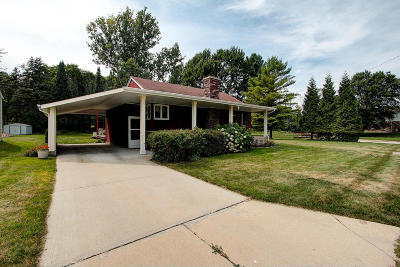 Saukville Single Family Home Active Contingent With Offer: 279 N Dries St