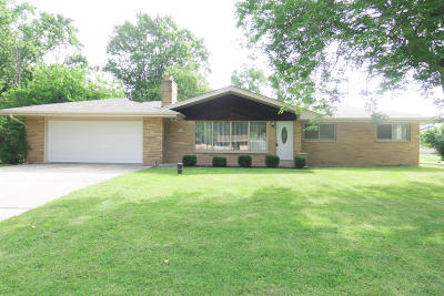 Menomonee Falls Single Family Home Active Contingent With Offer: W148n7884 Menomonee Manor Dr
