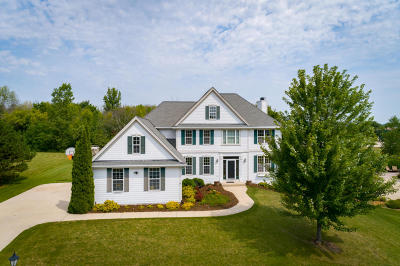 Menomonee Falls Single Family Home Active Contingent With Offer: N54w16618 Ravenwood Dr
