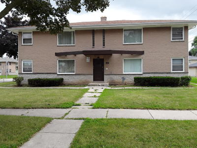Milwaukee Multi Family Home For Sale: 9205 W Sheridan Ave