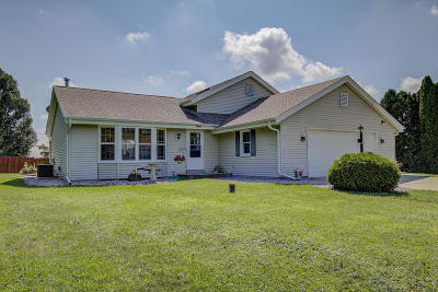 Jefferson County Single Family Home Active Contingent With Offer: W1491 Cardiff Ln