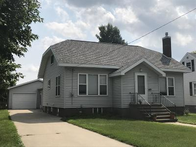 Menominee Single Family Home Active Contingent With Offer: 2421 10th Ave