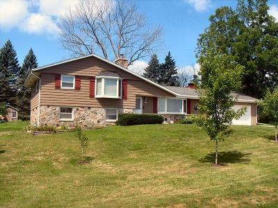 Saukville Single Family Home Active Contingent With Offer: 2753 County Road I