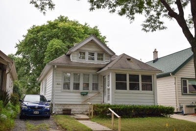 Wauwatosa Single Family Home For Sale: 8327 Stickney Ave
