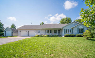 Campbellsport Single Family Home For Sale: W3494 State Road 67