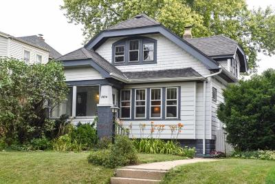 Wauwatosa Single Family Home Active Contingent With Offer: 2456 N 65th St