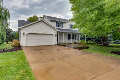 Kenosha County Single Family Home Active Contingent With Offer: 8780 383rd Ave
