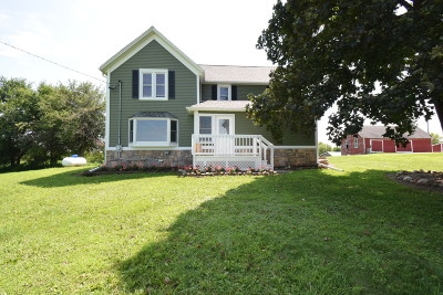 Jefferson County Single Family Home For Sale: W1943 County Road Ci