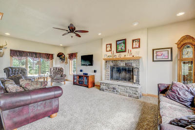 Racine County Single Family Home Active Contingent With Offer: 34711 Walburg Ln