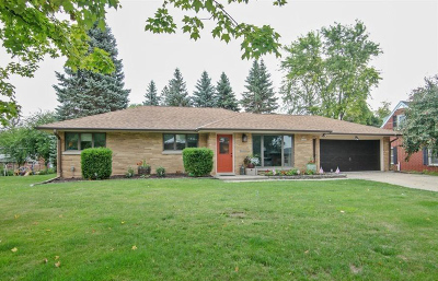 Menomonee Falls Single Family Home Active Contingent With Offer: N88w17079 Elmwood Dr