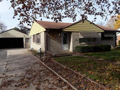 Greenfield Single Family Home For Sale: 4439 S 62nd St
