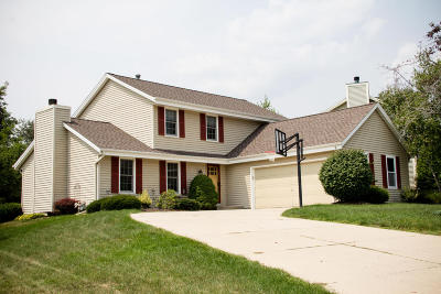 Mukwonago Single Family Home Active Contingent With Offer: 1231 Riverton Dr