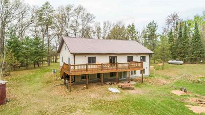 Marinette County Single Family Home For Sale: N11434 River Rd