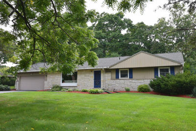 Brookfield Single Family Home For Sale: 3845 Bradee Rd