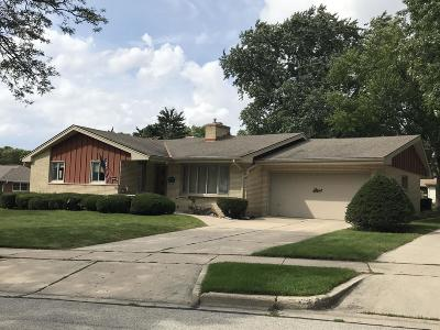 West Allis Single Family Home Active Contingent With Offer: 2719 S Cleveland Park Dr