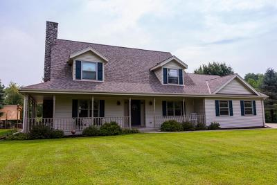Oconomowoc Single Family Home Active Contingent With Offer: 3060 N Morgan Rd