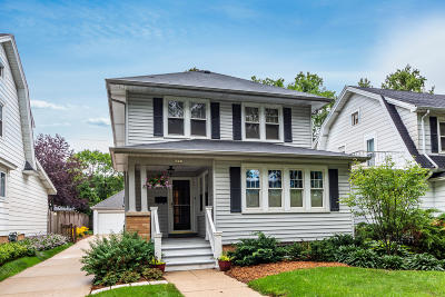 Whitefish Bay Single Family Home Active Contingent With Offer: 4921 N Bartlett Ave
