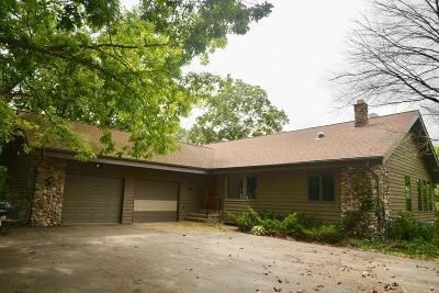Hartford Single Family Home Active Contingent With Offer: 2311 County Road K