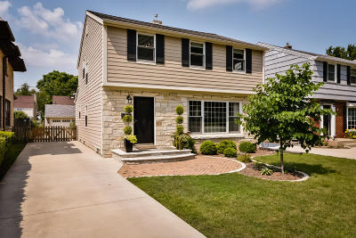 Whitefish Bay Single Family Home Active Contingent With Offer: 5911 N Santa Monica Blvd