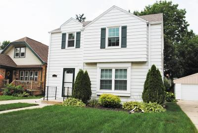 Wauwatosa Single Family Home For Sale: 1019 Glenview Ave.