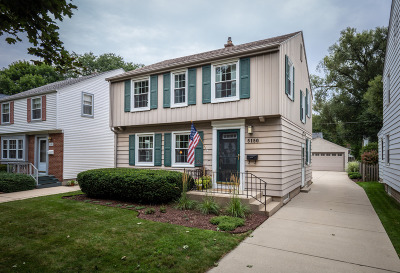 Whitefish Bay Single Family Home For Sale: 5150 N Kent Ave