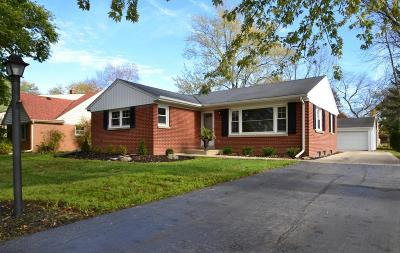 Milwaukee County Single Family Home For Sale: 7508 N Mohawk Rd