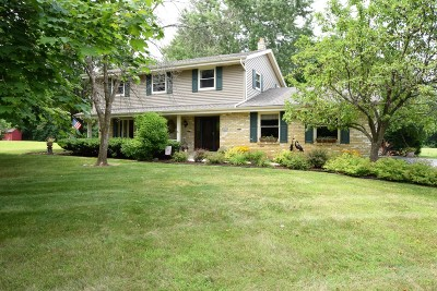 Mukwonago Single Family Home Active Contingent With Offer: S76w30706 Mosher Dr